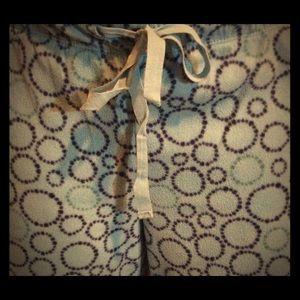 Faded Glory Flannel Pajama Pants Sz M